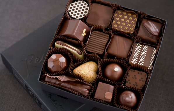 Chocolates contain a food component/chemical that leaves one in a naturally good mood hence stimulating their sexual arousal